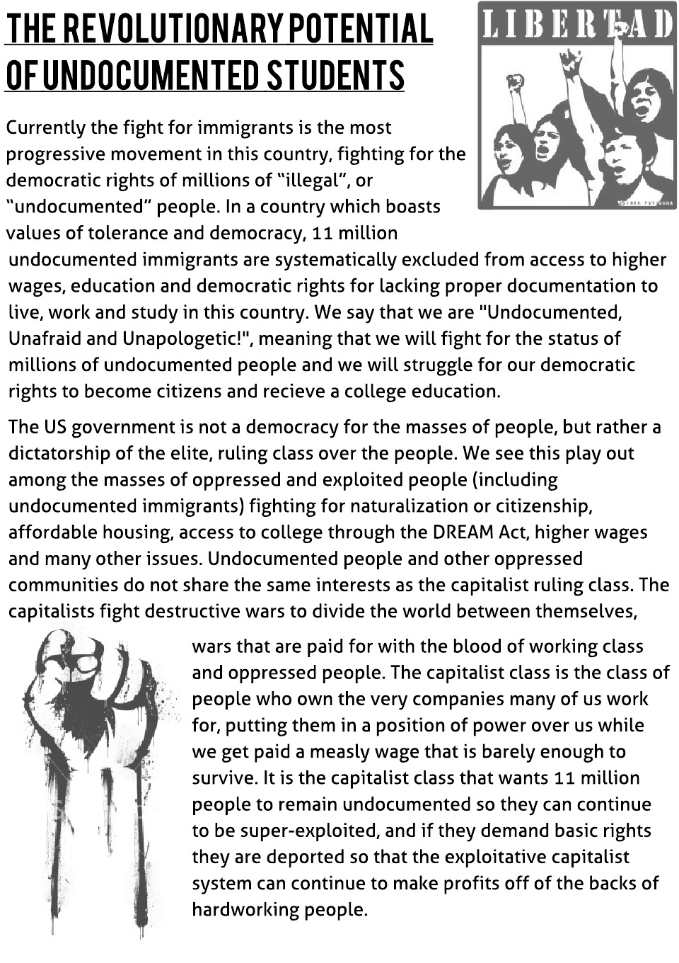 The Revolutionary Potential of Undocumented Students  - Blank (1)